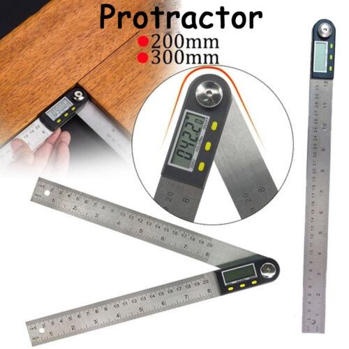 1 Gauge Meter Inclinomètre Goniomètre Numérique Rapporteur Angle Ruler Stainless
