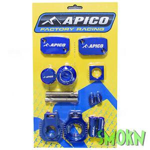 Apico Factory Brillant Pack Pour Ktm 125 150 Xc-w 17-19 250 300 Sauf Tpi Bleu Jolie Et ColoréE