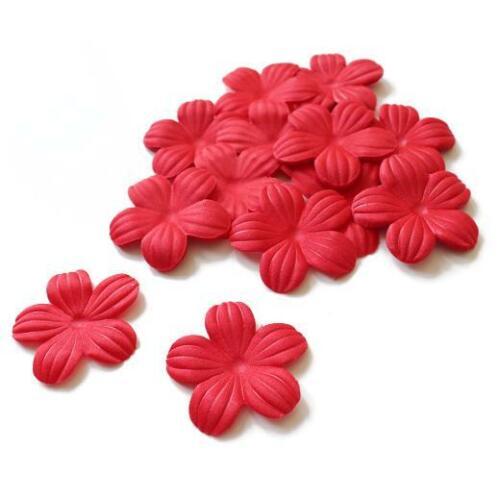 Flores De Seda Buddly Crafts 35mm 50 un