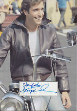 HENRY WINKLER Signed 12x8 Photo Display THE FONZ In HAPPY DAYS COA
