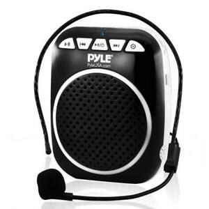 Details about Portable Loud Speaker Voice Amplifier Microphone Booster  Waist Band PA System