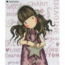 BOTHY THREADS SANTORO GORJUSS ALL THESE WORDS COUNTED CROSS STITCH KIT XG33