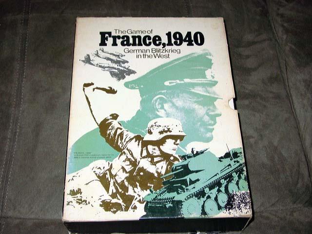 Ah Avalon Hill 1972-France 1940 Jeu-Blitzkrieg allemand dans l'ouest copie  3