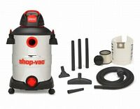 Shop-vac 12 Gallon 6 Peak Hp Stainless Steel Wet/dry Vacuum With Blower,