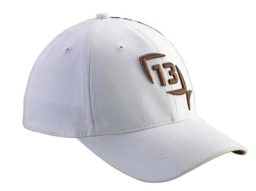 13 Fishing Hi-Tech Redneck Fitted Hat Size S//M Small Medium HTR-SM White Camo