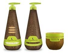Macadamia Rejuvenating Shampoo 1000ml, Moisturizing Rinse 1000ml & Masque 500ml