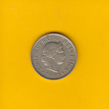 Schweiz - 5 Rappen 1955 - Tolle Erhaltung