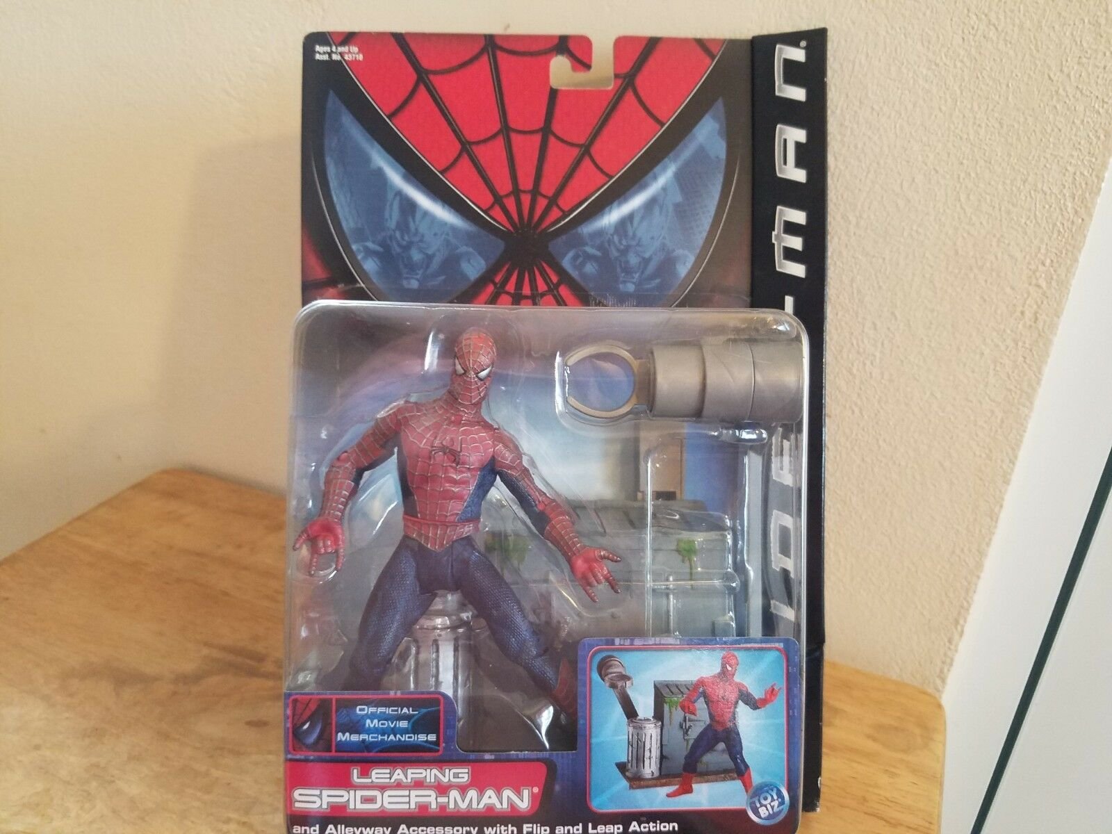 Marvel spider-man action figures leaping series 2 unopened 2002