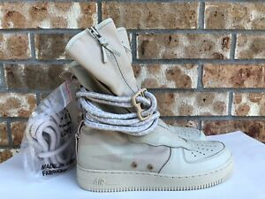 01d56a0abf80a Men's Nike Air Force 1 SF AF1 HI Special Field Rattan Rattan Size ...