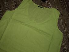 KOKOMARINA Lagenlook Leinen Kleid-Tunika in grün NEU,Gr3