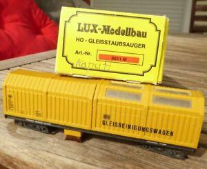 LUX-Modellbau-8811-M-Gleisreinigungswagen-Vacum-Cleaner-DB-2-Leiter-DC-m-Fehler