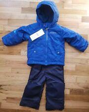 3c2c5d43b item 1 NWT COLUMBIA BOYS FROSTY SLOPE SNOW SET BLUE GEO PRINT SNOWSUIT 3T  NEW! -NWT COLUMBIA BOYS FROSTY SLOPE SNOW SET BLUE GEO PRINT SNOWSUIT 3T  NEW!
