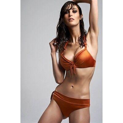 Marlies Dekkers Marigold Orange Beach Bikini Bottoms Size M - 10 To 12