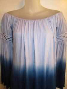 Sky Clothing Brand NWT Dress Tie Dye Ombre Mini Off Shoulder