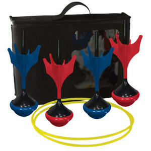 Safety-Lawn-Darts-Two-Target-Rings-Instruction-Sheet-Weather-Resistant-Outdoor