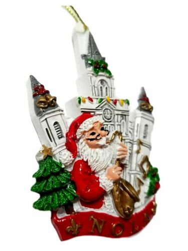 Santa Cathedral New Orleans Christmas Ornament Party Favors