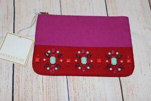 Handtasche Rot Und Shiraleah Pink Chicago UqwCF8x
