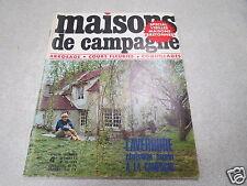 MAISONS DE CAMPAGNE N° 13 1968 LAVERDURE CHRISTIAN MARIN MAISONS BRETONNES *