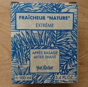 Yves-Rocher-Fraicheur-nature-extreme-After-Shave-Apres-Rasage-100-ml-neu-OVP