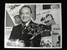 "Bob Hope Autographed 8"" x 10"" Black & White Photograph - B&E Hologram"