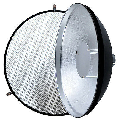 Godox AD S3 Beauty Dish with Grid for WITSTRO Speedlite Flash AD180 AD360 Light