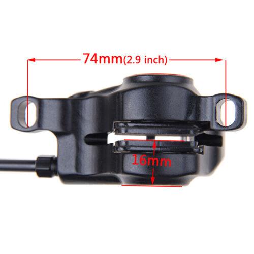 ZOOM HB-875 MTB Bike Hydraulic Disc Brake Set 160//180mm Disc Brake Rotor 6 Bolts