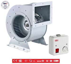 Gastro-Air-Ventilateur-Radial-Soufflerie-Axial-2200m-Regulateur-de-Vitesse