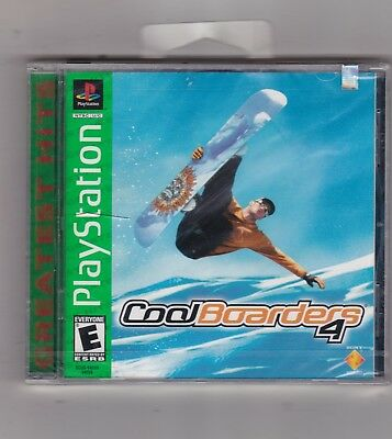 Cool Boarders 4 Sony Playstation 1 Snowboarding Ps1 Game New 711719455929 Ebay