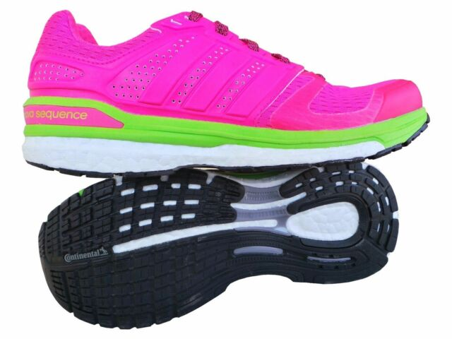 7a805a533 Adidas Womens Supernova Sequence 8 Running Shoes Trainers Pink Ladies UK 4  - 9