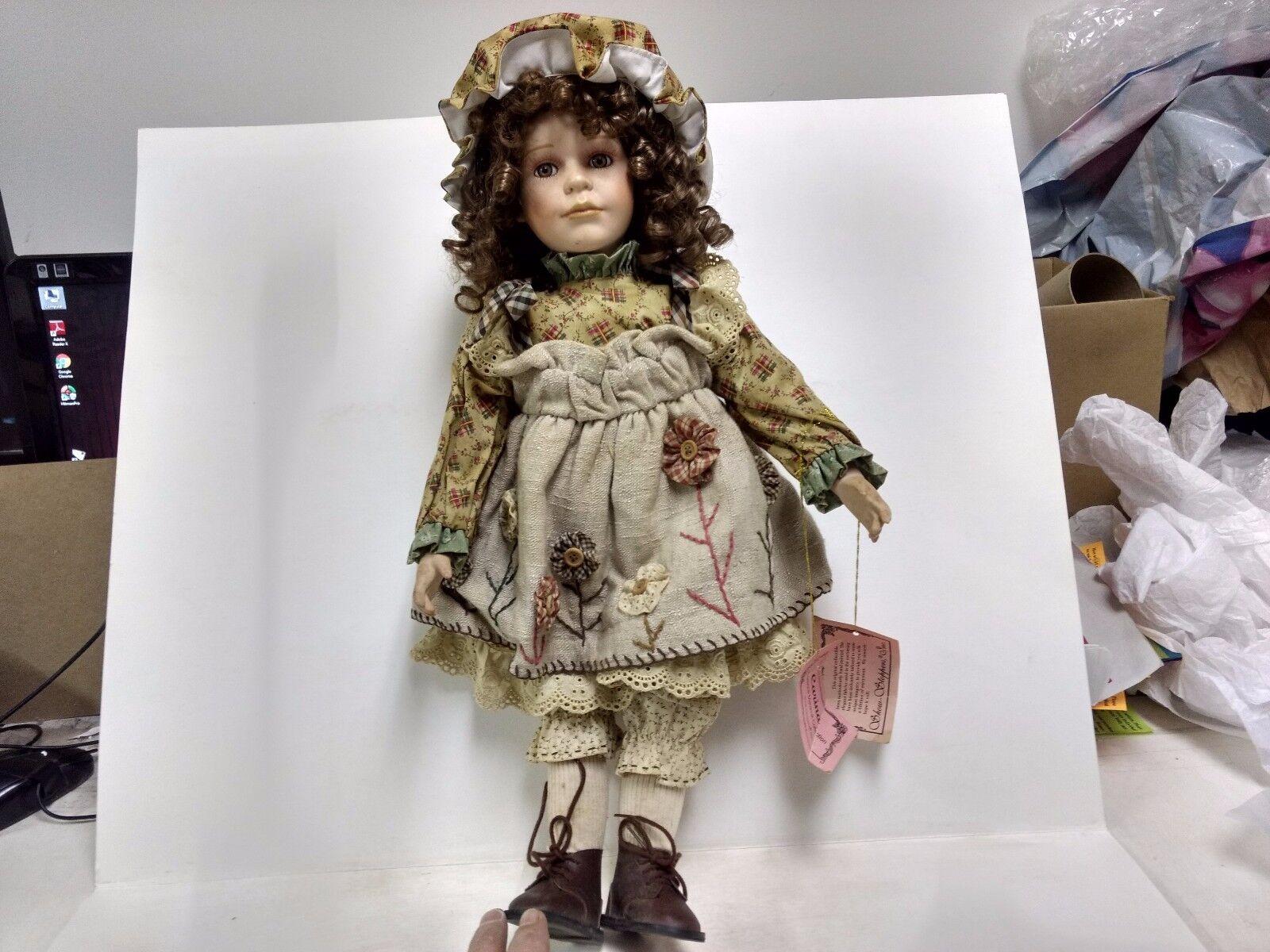 Florence Maranuk Collezione mostrare Stoppers autoina Bambola Limitata Ed. Porcellana   alta quaità