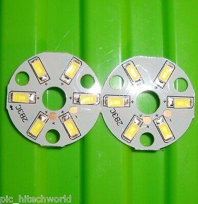 2pcs 3W white LED COB lamp panel $