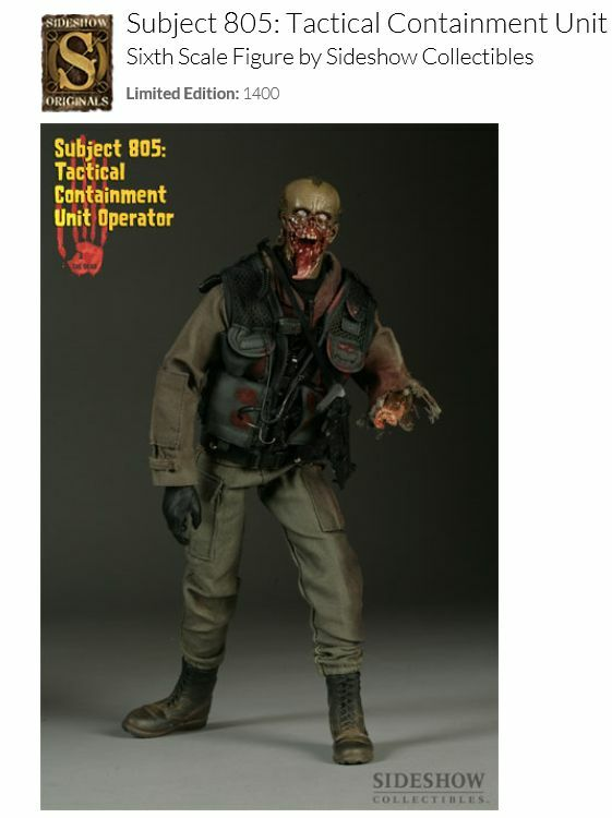 Zombies - Tactical Containement Unit Operator