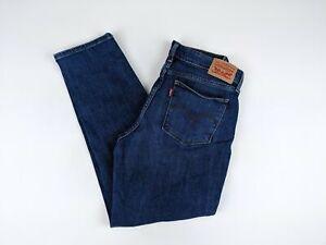 Levi-039-s-Women-039-s-Jeans-Size-30-712-Slim-Mid-Rise-Dark-Wash-Stretch-Blue-Denim