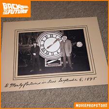 Zurück in die Zukunft / Back to the Future Prop - Doc und Marty vor Clock-Tower
