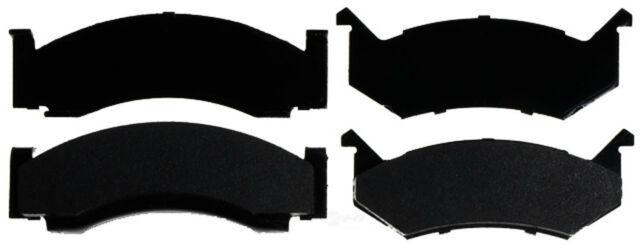 Disc Brake Pad Set-Semi-Metallic Front,Rear ACDelco Advantage 14D269M