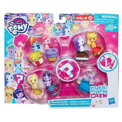 My Little Pony Cutie Mark Ras du cou Brillant bonbons//8 Pack-Hasbro