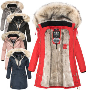 Navahoo-Premium-sehr-warm-Damen-Winter-jacke-winter-Parka-Mantel-Luxus-daylight