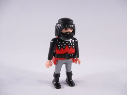 PLAYMOBIL KNIGHTS BRONZE GOLD SILVER BLACK ARMOR POUCH CHAINMAIL BEARD-CHOICE