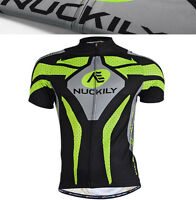 Mens Jersey Shorts Padded Sports Short Sleeve Suit Bike Cycling Racing Suit Hot