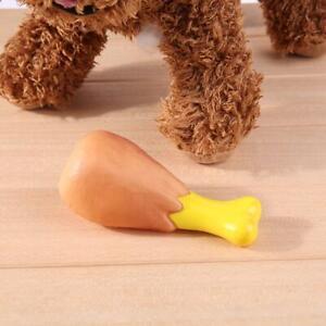 Pet-Heath-Funny-Dog-Puppies-Sound-Toy-Food-Chew-Chicken-Toy-AU