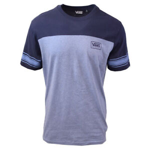 Vans-Off-The-Wall-Men-039-s-Infinity-Two-Tone-Blue-S-S-Tee-S06-A-Retail-34