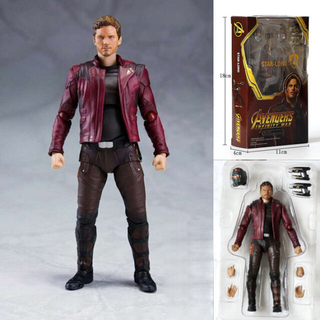 SHF S.H.Figuarts Avengers Infinity War Star Lord PVC Action Figure New In Box