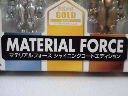 """Microman MATERIAL FORCE Shining Coat Edition Japan Toys/""""R/""""Us Limited TAKARA NEW"""