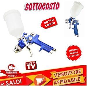 PISTOLA-A-SPRUZZO-AEROGRAFO-H-V-L-P-CON-SERBATOIO-A-CADUTA-600cc-UGELLO-1-4mm