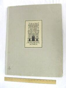 Monumenta-Scenica-Art-of-Theatre-1954-Galli-Bibiena-Samuel-Hume-Oversize-Vintage