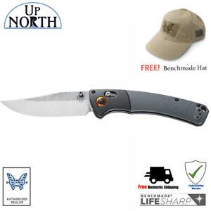 NEW-BENCHMADE-Crooked-River-15080-1-Folding-Hunt-Knife-G10-Handle-SV30-Blade