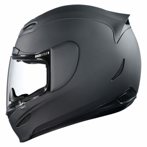 ICON AIRMADA RUBATONE HELMET MOTORCYCLE STREET RIDING DOT ECE MATTE BLACK SOLID