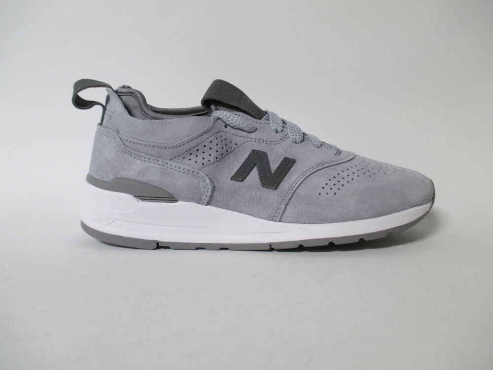 New Balance 997 Made in USA Grey White Sz 9 M997DGR2