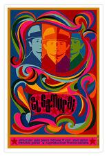"Cuban movie Poster 4 French-Italian film""EL SAMURAI""art.Collectible Decor"