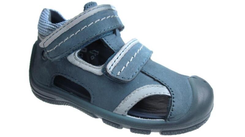 Sammlung Hier Girls Elefanten Infant Leather Hook And Loop Sandals Blue Size 4-7 New Hohe Sicherheit